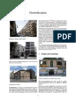 Gentrification | Suburb | Economic Growth