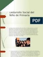 Desarrollo Social Del Niño de Primaria
