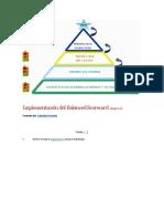 Implementación Del Balanced Scorecard