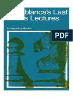 Capablanca, Jose - Capablanca's Last Chess Lectures