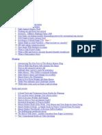 Complete list of money hacker blog articles