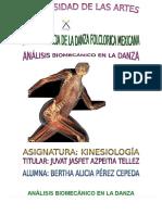 Análisis Biomecánico en La Danza