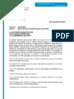 Folio 2. Nuevo Informe de Auditoría Para El Año 2016.