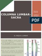 Columna Lumbar-Sacra