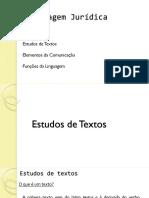Linguagem Juridica - Estudos de Textos