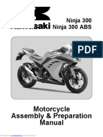 Kawasaki Ninja 300 Assembly Manual
