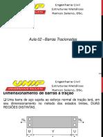 Aula 02 Estruturas de Aço-Barras Tracionadas
