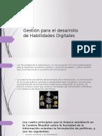 Gestión Para El Desarrollo de Habilidades Digitales
