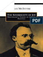 Alex McIntyre-The Sovereignty of Joy_ Nietzsche's Vision of Grand Politics-University of Toronto Press (1997)