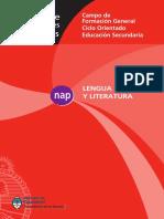 NAP Lengua Ciclo Orientado Secundario