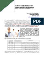 La Norma Técnica de Los Servicios Analisis de Luis Diaz