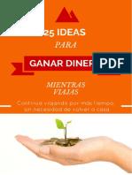 25 Ideas Probadas Para Ganar Dinero Mientras Viajas 02