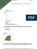 Como Juntar Varios PDFs