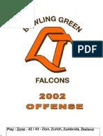 2002 Bowling Green Offense