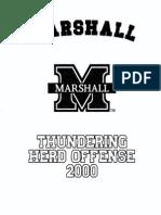 2002 Marshall Offense