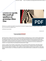 Ordina Un Laptop, Microsoft Gli Spedisce Un Prototipo Xbox One - Repubblica