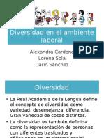 Diversidad en El Ambiente Laboral