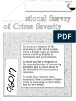 National Survey of Crime Severity