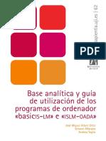 Base Analítica y Guía de Utilización de Los Programas de Ordenador Basicis-lm e Islm-oada