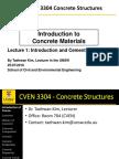 CVEN3304 Lecture 1a Slide