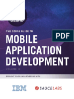 Mobile Application Development Guide by DZon - 2016
