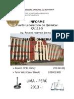 Informe Lab 4 Quimica