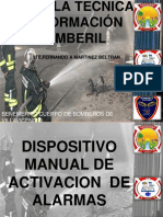 Dispositivo Manual de Alarma
