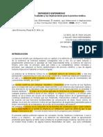 Definiendo Salud Enfermedad 2014
