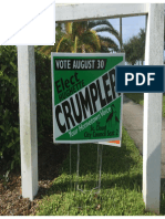 Crumpler & Rinehart Campaign Signs