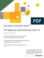 EV Whitepaper - PST Migration With Enterprise Vault 11