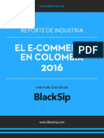 Reporte de Industria - El E-Commerce en Colombia 2016