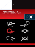 Finance Function a Framework for Analysis