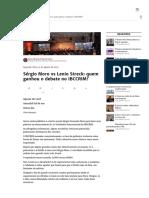 Sérgio Moro vs Lenio Streck_ Quem Ganhou o Debate No IBCCRIM_ - Justificando