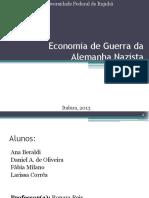 Economia de Guerra Da Alemanha Nazista