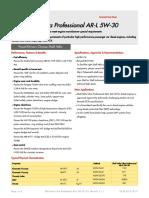 Helix Ultra Professional AR-L 5W-30 (C4 Renault) (en-GB) TDS