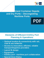 Subplenary A1_Efficient Inland Container Depots and Dry Ports – Decongesting Maritime Ports
