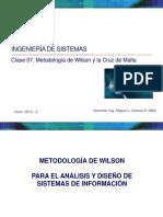 Clase 07 Metodologia Wilson 2015 II 24509 (1)