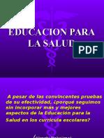 Educación Para La Salud Historia y Metodos