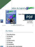 Présentation du logiciel E-Prime