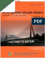 Kota Batam Dalam Angka 2016