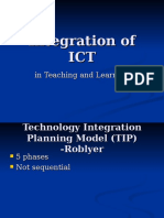 Integration of ICT_TIP