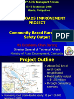Plenary C1_Chan Darong_Community Based Rural Road Safety Output
