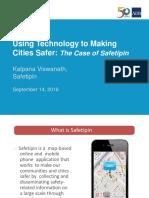 Subplenary C2_ Kalpana Viswanath_Using Tech to Make Cities Safer