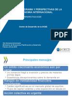 OCDE Pronostico 2016