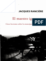Rancic3a8re Jacques El Maestro Ignorante