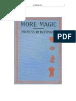 Professor Hoffman - More Magic
