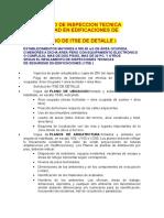 Certificado de Inspeccion Tecnica