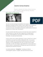 Biografía de Roberto Gómez Bolaños