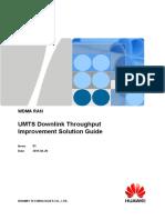UMTS Downlink Throughput Improvement Solution Guide(RAN17.1_01)