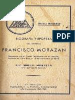 Biografia y Epopeya Del General Morazan